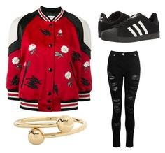"""""""❀ ✿"""" by chocolart on Polyvore featuring Coach, J.W. Anderson, adidas and Dorothy Perkins"""