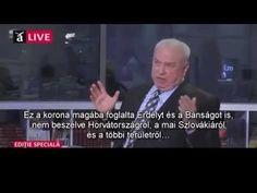 A magyarok ellen elkövetettet nemzetközi összeesküvésről beszélt a román titkosszolgálat volt elnöke – videó | Magyarok vagyunk History, Youtube, Historia, Youtubers, Youtube Movies