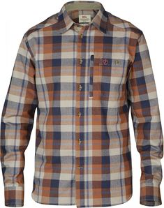 Long-sleeve shirt with button-down collar in functional polyester flannel.  Two breast 78bb5a20d8
