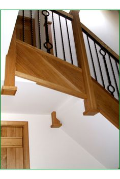 Best Moreton Barn Oak And Metal Staircase Glass Panels 400 x 300