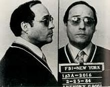 "Anthony ""Antonino"" ""Nino"" Frank Gaggi (August 7, 1925 – April 17, 1988) was a captain in the New York Gambino crime family who supervised the infamous DeMeo crew, headed by Roy DeMeo"