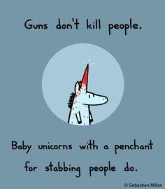 Baby Unicorn | Baby Unicorns Are Dangerous by sebreg