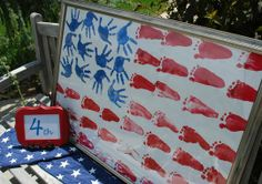 Fun craft for the kids for 4th of july!