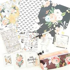 OMG  I can't believe how beautiful this Kit is  #theplannersociety   It's time for a new setup in my Kate Spade - my motivation is back  by _planwithjenn_