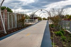 Walking the length of The 606 elevated park in Chicago. | Bloomingdale Trail | the 606 in early spring.