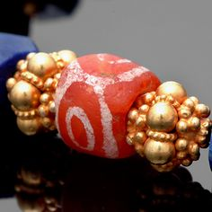 Ancient Bactrian etched Carnelian from the Indus Valley