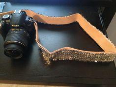 Sequin Camera Strap