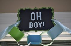 Oh Boy! Baby Shower www.igoyougoblog.com