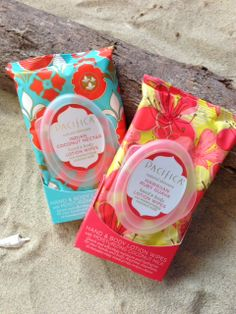 Pacifica // Lotion Wipes a must have for your beach bag