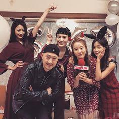 #고우리 #우리 #WooRi #조현영 #현영 #HyunYoung #레인보우 #Rainbow 161221 PARKI1ST Instagram UPDATE feat WooRi & HyunYoung