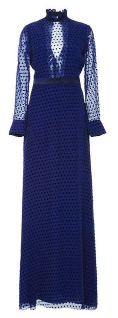 April 6th - Kate wore the 'Mary Illusion Dot Dress' by Saloni. The dress retails for $595.