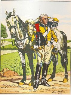French; 9th Cuirassier Regt, Trumpeter, 1808-09