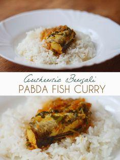 Bengali Pabda Macher Jhol (Bengali Pabda Fish Curry) - The Red Lychee