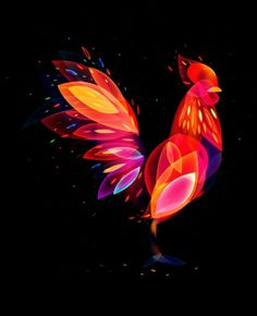 Rooster Neon