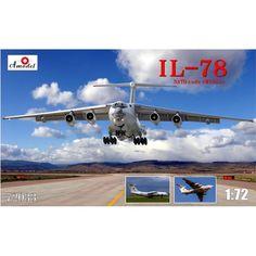 Ilyushin Il-78 Scale Plastic Model Kit by AMODEL 72033 #Amodel