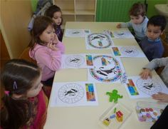 """A partir du livre """" LE LOUP QUI VOULAIT CHANGER DE COULEUR"""" avec les Petits - école maternelle Les Marins"""