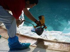 How to Resurface a Pool Patio : How-To : DIY Network