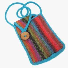 Boho Hippie Crossbody Messenger Bag Purse Multi-Color Wool Stripe Handbag #Unbranded #crossbodybags #hippie