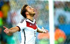 Para a história! Alemanha é tetra no Maracanã com gol na prorrogação! Mario Gotze gol final Alemanha x Argentina (Foto: Reuters)