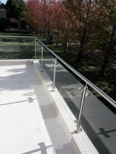 Balcony Glass Design, Balcony Grill Design, Balcony Railing Design, Window Grill Design, Glass Railing, Home Stairs Design, Door Design Interior, Home Room Design, Modern House Design