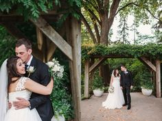 Jennifer and Matt's Fall Wedding at the Morton Arboretum » Two Birds Photography
