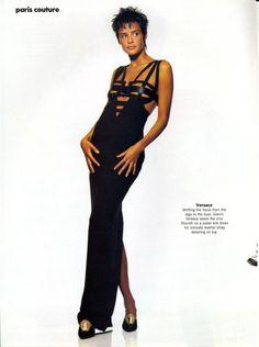 'Paris Couture' from…………….Vogue April 1992 feat Nadege du Bospertus
