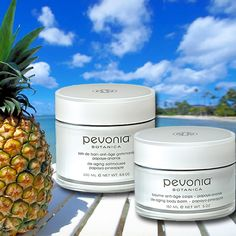 Go Tropical this summer with our relaxing, Papaya-Pineapple aromatic bath and body creams and scrubs. De-Aging Body Balm and De-Aging Saltmousse. #Pevonia #Scrubs #Beauty #Skincare