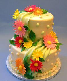 Flower Birthday Cake | Best Flower Birthday Cakes Idea