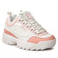 3c9194763e Sneakersy FILA - Disruptor Cb Low Wmn 1010604.02W Marshmallow Salmon