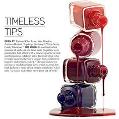 Celia Ellenberg On Fall 2013's Backstage Beauty Trends found on Polyvore