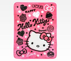 Hello Kitty pink blanket