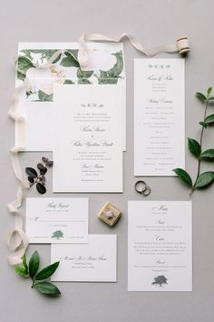 Floral wedding invitation suite: Photography: Julie Wilhite - http://juliewilhite.com/