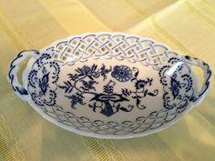 BLUE DANUBE CHINA OVAL DISH. My china pattern. Need this piece!