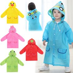 2016 Poncho New Waterproof Kids Rain Coat For children Raincoat Rainwear/Rainsuit,Kids boy girl Animal Style Raincoat - FASHION BookFace - Leading Global Online Shopping Site Raincoat Outfit, Hooded Raincoat, Green Raincoat, Waterproof Poncho, Kids Poncho, North Face Coat, Rain Suit, Baby Shop Online, Baby Goats