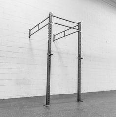 The Rogue Monster Lite Wall Mounted Power Rack Home Made Gym, At Home Gym, Calisthenics Equipment, Gym Equipment, Crossfit, Gym Plans, Mundo Fitness, Home Gym Garage, Squat Stands
