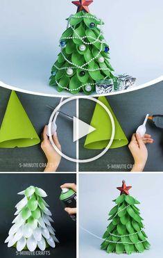 Cheap and Easy Christmas Decor Ideas - DIY Cuteness
