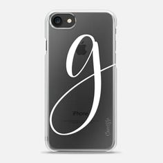 MONOGRAM G // PHONE CASE // @PRETTYININKSHOP