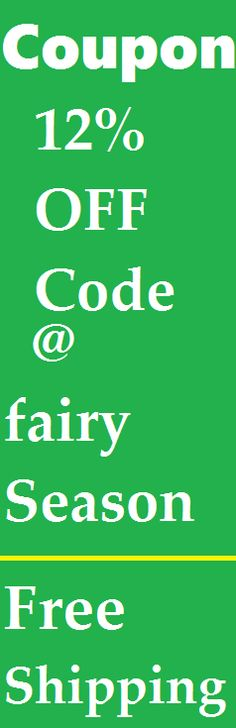 12% sitewide off Coupon Code for FairySeason Clothing with Couponscop.com