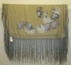 Shawl  Date: 1900–1925 Culture: Chinese