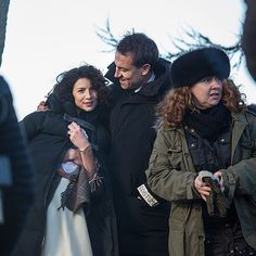 Keep your lass close when you're near the stones. #Outlander #BehindtheScenes