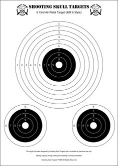 Pistol Targets, Rifle Targets, Paper Shooting Targets, Target Practice, Air Rifle, Vintage Air, Catapult, Paper Art, Guns