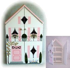 Bookcase Doll House DIY ideas