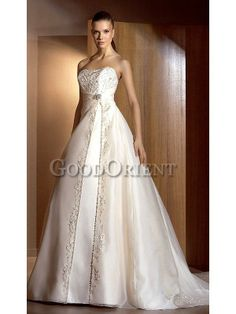 Classical Pretty Women Wedding Gown