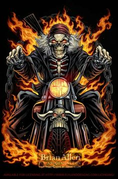 21 Ideas skeleton motorcycle tattoo grim reaper for 2019 Harley Davidson Kunst, Harley Davidson Wallpaper, Harley Davidson Logo, Motorcycle Tattoos, Motorcycle Art, Bike Art, Art Moto, Aztecas Art, David Mann Art