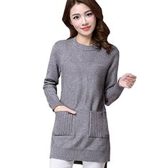 Partiss Damen Frauen U-Ausschnitt Casual Langarm Slim Casual Strickjacke Pullover Jersey, Onesize,Grey Partiss http://www.amazon.de/dp/B01BW9STUK/ref=cm_sw_r_pi_dp_v-QXwb19NSHK8