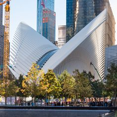 New York's long-delayed World Trade Center Transportation Hub, designed by Santiago Calatrava, has encountered a new problem: a leaky ceiling