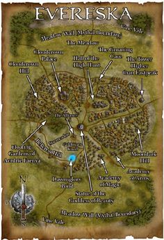 Accessible via a Mystic gate in Ballycastle Ireland Fantasy City Map, Fantasy Town, Legend Stories, Village Map, Imaginary Maps, Dnd 5e Homebrew, Forgotten Realms, Dungeons And Dragons Homebrew, Landscape Concept