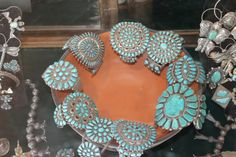 Gobs of turquoise
