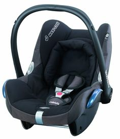 Maxi-Cosi CabrioFix Group 0+ Infant Carrier Car Seat (Black Reflection): Amazon.co.uk: Baby