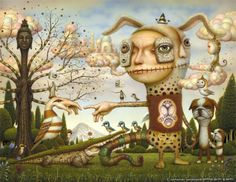 Surrealistic Paintings by Naoto Hattori from Japan